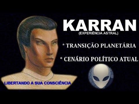 (87) - EXPERIÊNCIA ASTRAL COM KARRAN - TRANSIÇÃO PLANETÁRIA -  CENÁRIO POLITICO ATUAL