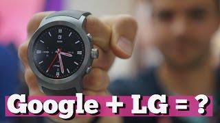 Что не так с часами LG Watch от Google?