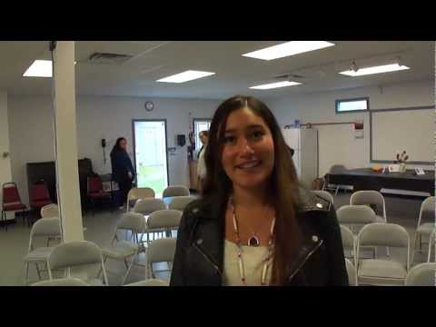 Q'orianka Kilcher interview after speaking at Northwest Indian College Lummi