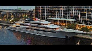 KISMET 312 ft.  Mega Yacht... Shad Khan owner of Jacksonville Jaguars