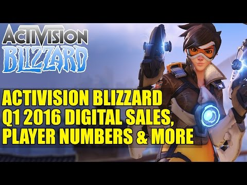Activision Blizzard Q1 2016 Digital Sales Player Numbers & More