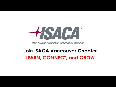 Join ISACA Vancouver!