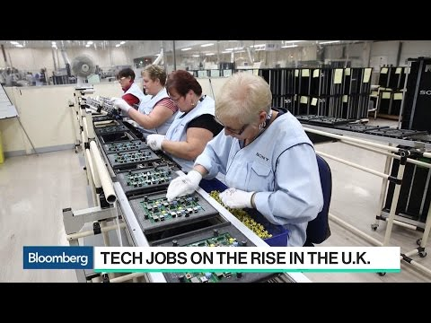 Tech Jobs Are on the Rise in the U.K.