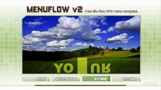 Menuflow - Free DVD / Blu-Ray Menu Template