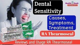 RA Thearmoseal Toothpaste || Dental Sensitivity || Review & Benefits || Health Rank