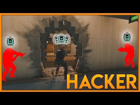 Rook Is Hacking! - Rainbow Six Siege Funny Moments