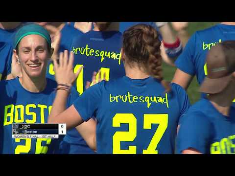 Boston Brute Squad vs Washington D.C. Scandal--2018 Women's Pro Championship