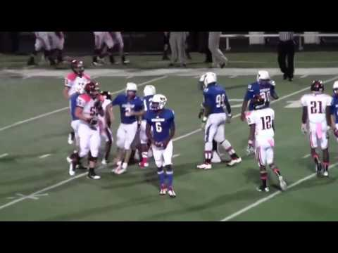 Highlights - Gilmer Buckeyes vs Henderson Lions - Oct 13, 2012