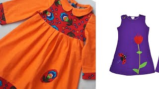 Beautiful baby frock full designing ideas