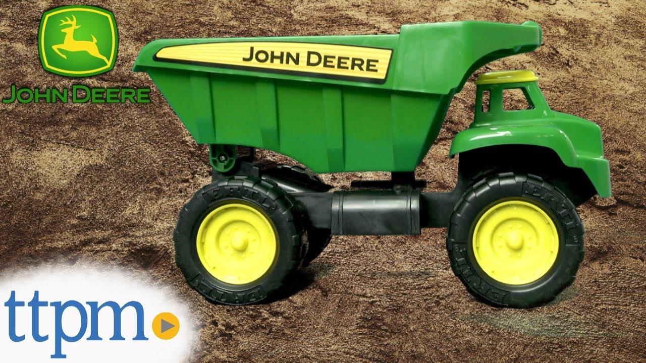 John Deere Big Scoop Dump Truck From Tomy Youtube