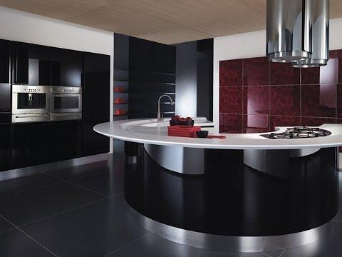 Кухня хай-тек - индустриальный дизайн
