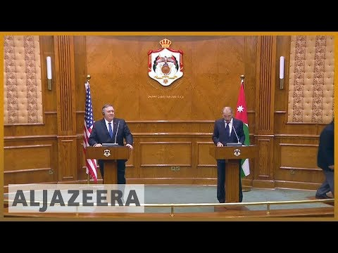 🇺🇸 Secretary of State Mike Pompeo starts Middle East visit in Jordan  l Al Jazeera English