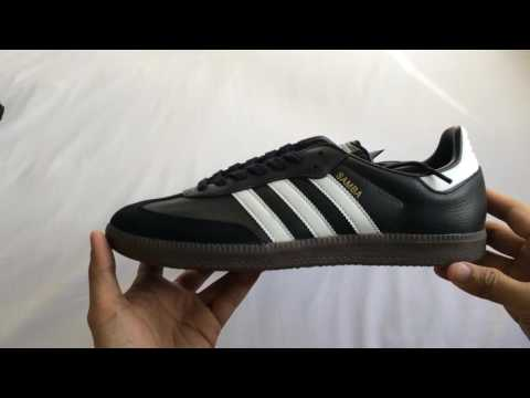 Unboxing Adidas Samba OG Black 2017