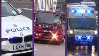 Uk Emergency Services Responding Compilation - Best Of October 2014 [cobra Emergency Videos]