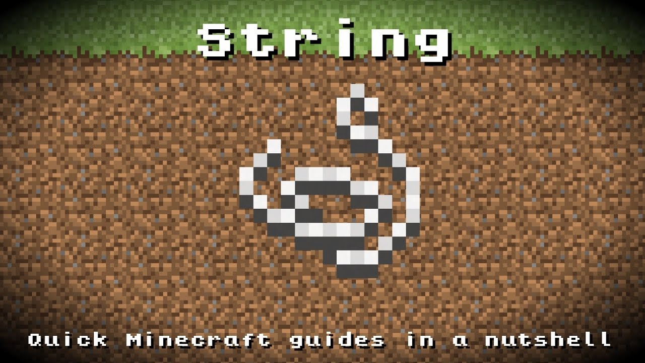 Minecraft How To Craft Rope