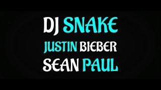 Dj Snake - Let Me Love You - Sean Paul & Justin Bieber [Lyric Video]
