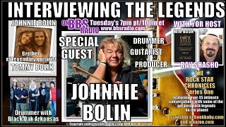 Johnnie Bolin Brother of Guitar Legend Tommy Bolin