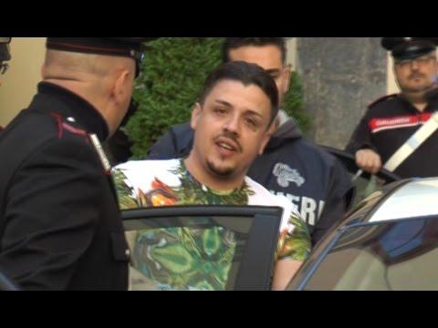 Napoli - Arrestato Walter Mallo, il giovane boss della nuova faida di camorra (05.05.16)