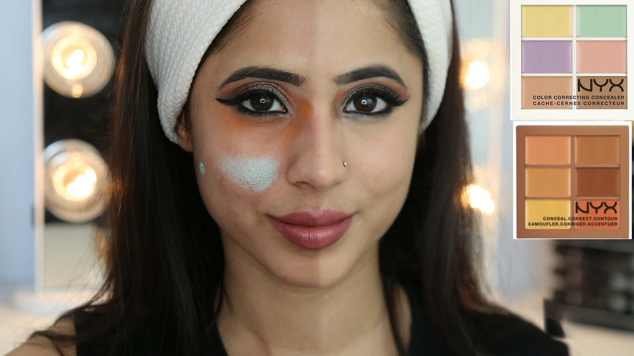 How To Color Correct Dark Circles Amp Redness With Nyx