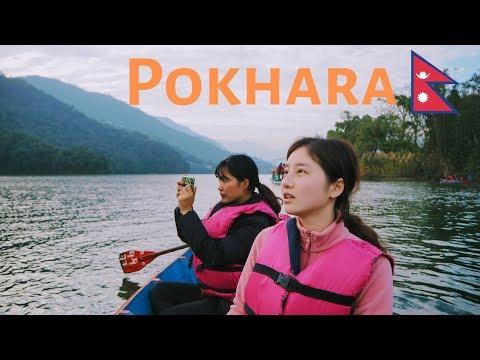 Pokhara, Nepal 🇳🇵- Travel Vlog 4k