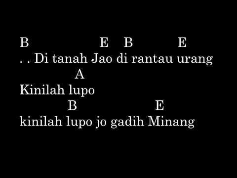 Ria Amelia - Pulanglah Uda (Chord & Lyric) | Original Chord