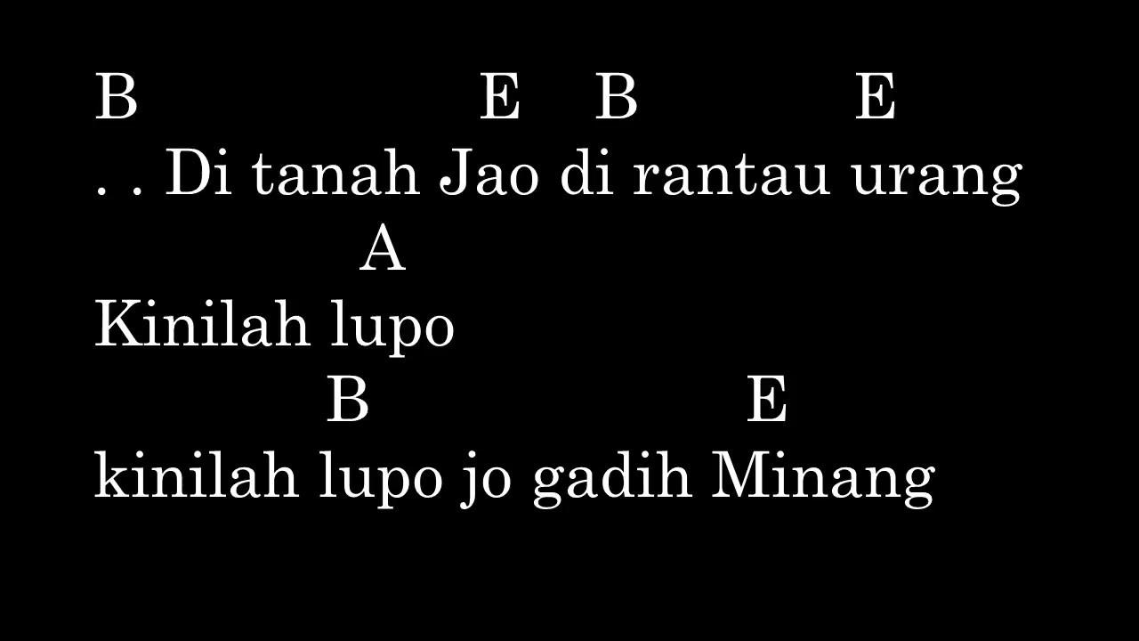 Ria Amelia Pulanglah Uda Chord Lyric Original Chord Youtube