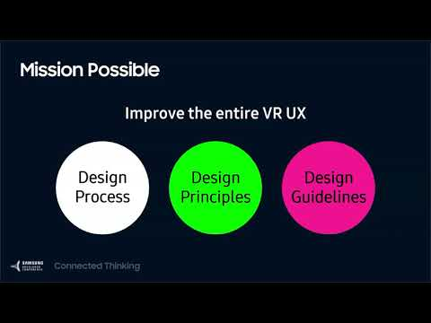 SDC 2017 Session: If At First You Don't Succeed: Top UX Tips & Tricks for VR Designers