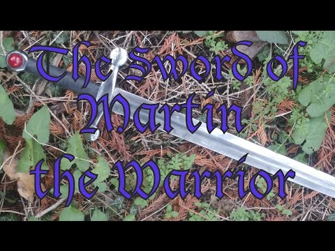 Forging the Sword of Martin the Warrior