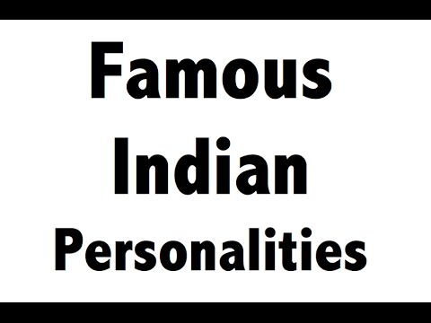 Famous Women - Indian Personalities - Part 1( Static GK )