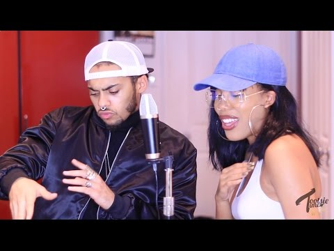 Aaliyah Medley/Mashup Singing + Beat Boxing Cover With R-Tizt | Sing-A-Thon Day 2