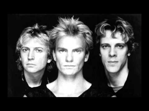 The Police - The Bed's Too Big Without You - Lyrics