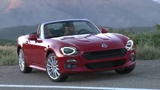 2017 Fiat 124 Spider Lusso Design Trailer | AutoMotoTV