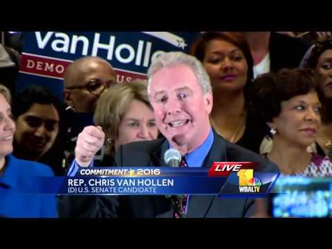Chris Van Hollen victory speech