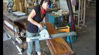 Woodworking Tips- How  To Cut  A Cabinet Door