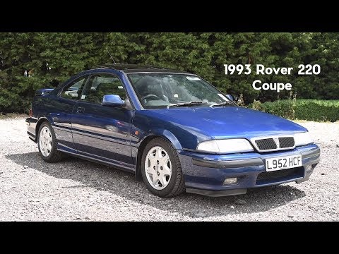 Tweed Jacket Reviews: 1993 Rover (R8/Tomcat) 220 Coupe - Lloyd Vehicle Consulting