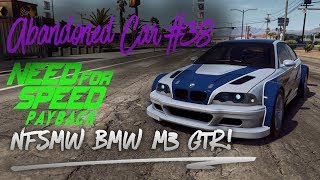 NFS Payback Abandoned Car #38 - Location Guide +CINEMATIC- NFSMW BMW M3 GTR!