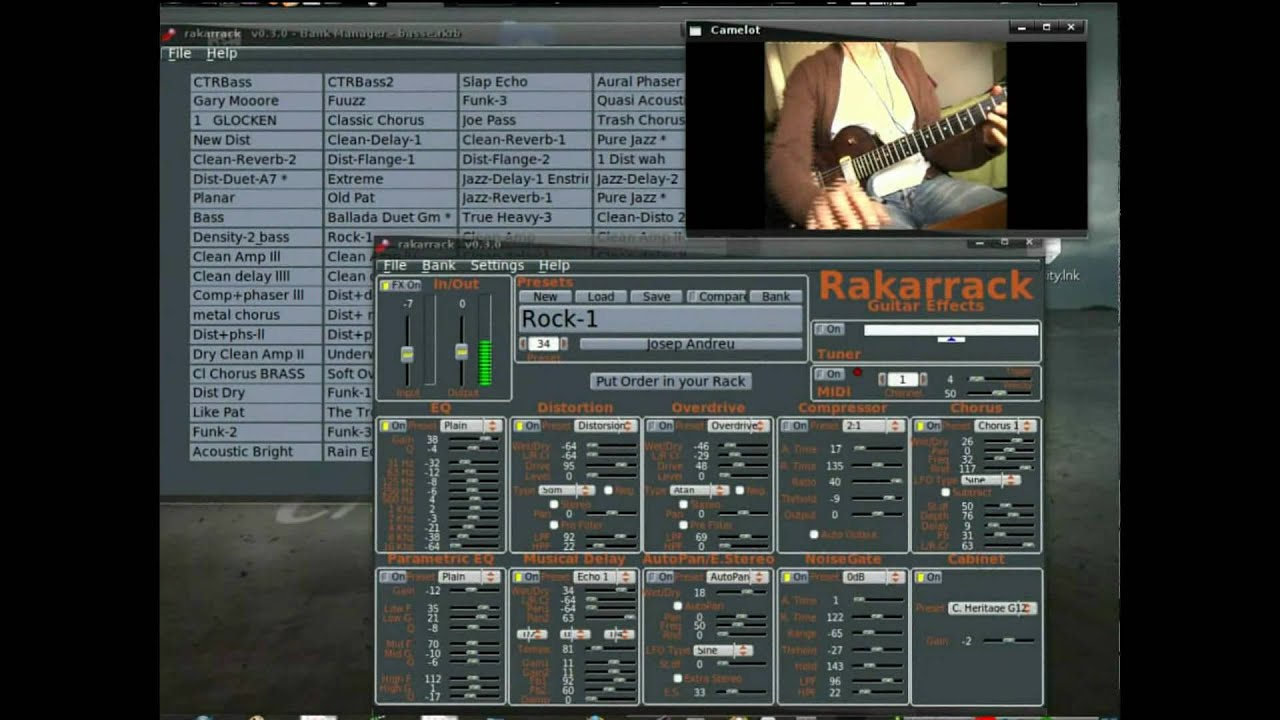 home studio linux rakarrack effect synth midi guitar lmms zynaddsubfx live open source youtube. Black Bedroom Furniture Sets. Home Design Ideas