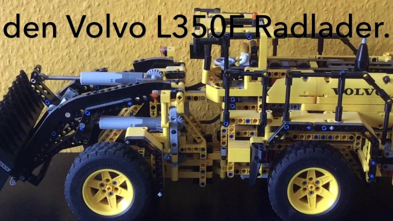 lego technic volvo l350f radlader 42030 youtube. Black Bedroom Furniture Sets. Home Design Ideas