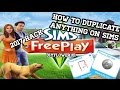 How to duplicate anything on Sims free play!! 2017 HACK