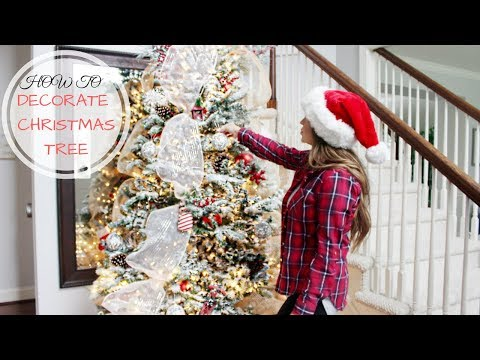 DECORATE WITH ME! CHRISTMAS TREE 2017
