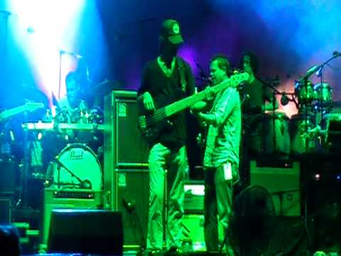 "Umphrey's McGee covers Talking Heads - ""Girlfriend Is Better"" @ Summer Camp 2010"