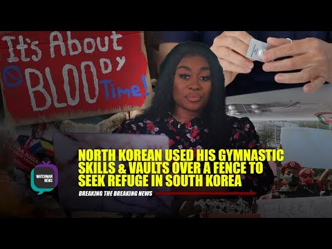 NORTH KOREAN USED HIS GYMNASTIC SKILLS & VAULTS OVER A FENCE TO SEEK REFUGE IN S.KOREA | NISSY TEE