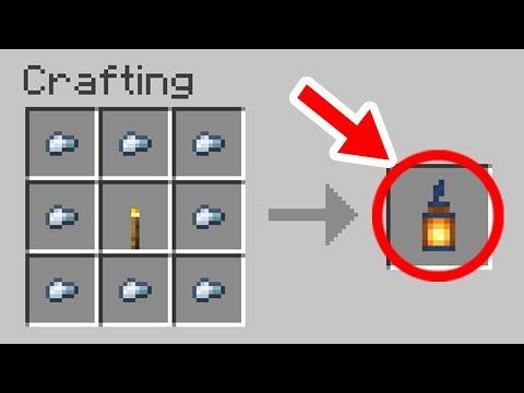✔ Minecraft 1.14 Update: 15 Crafting Recipes That Were Added
