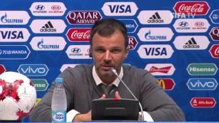 MEX v NZL Anthony HUDSON Mexico Post Match Press Conference