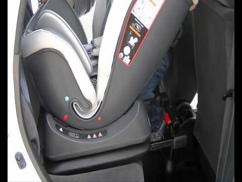 Isofix Car Seat Fit New Born Baby Upto 18kg Youtube