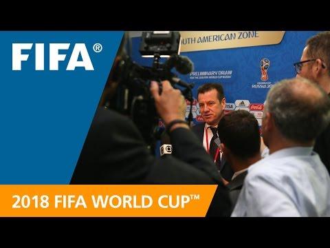 Dunga (Brazil) REACTION: World Cup Preliminary Draw