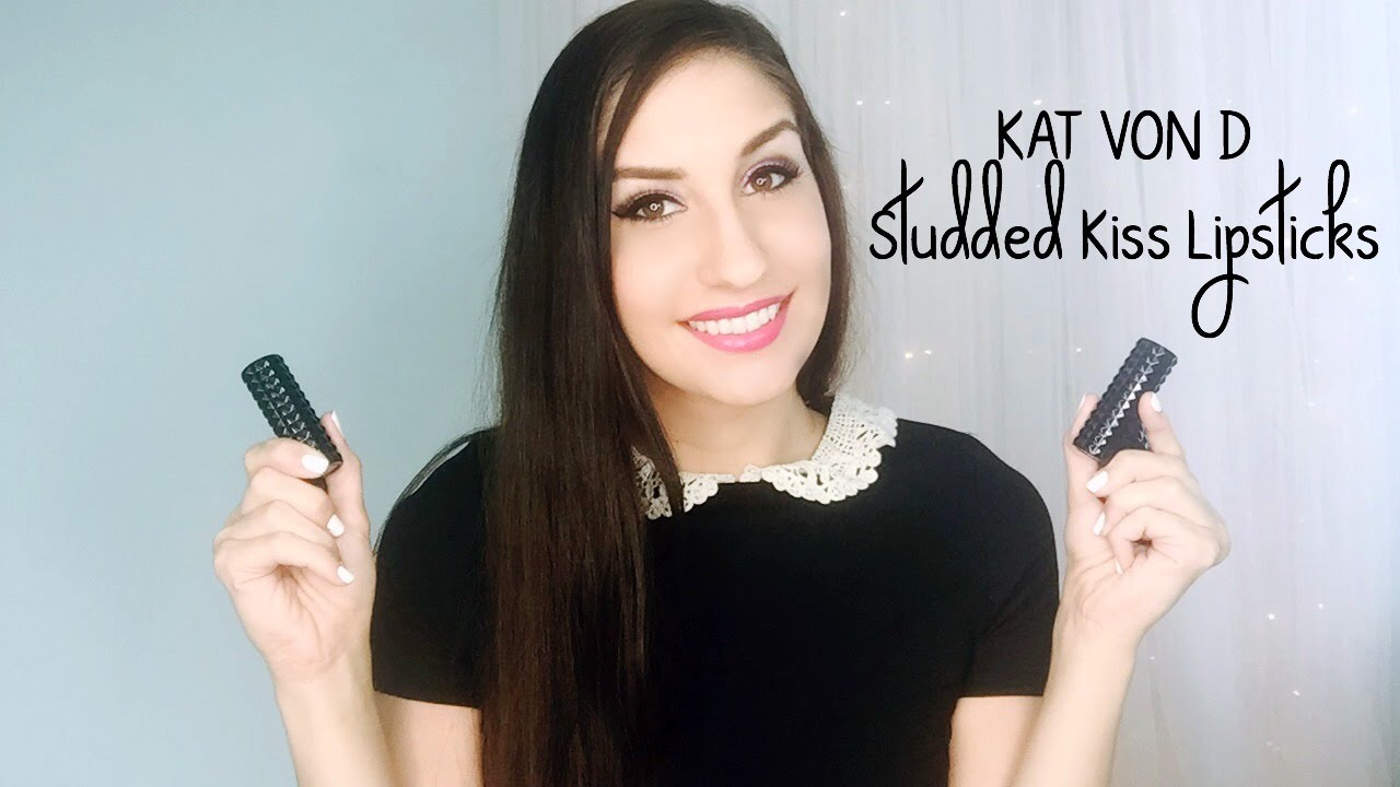 Kat Von D Beauty Studded Kiss Lipsticks NEW SHADES | First ...