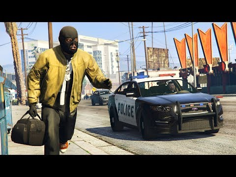 GTA 5 PLAY AS A COP MOD - NEW POLICE MOD UPDATE!! (GTA 5 Mods Gameplay)