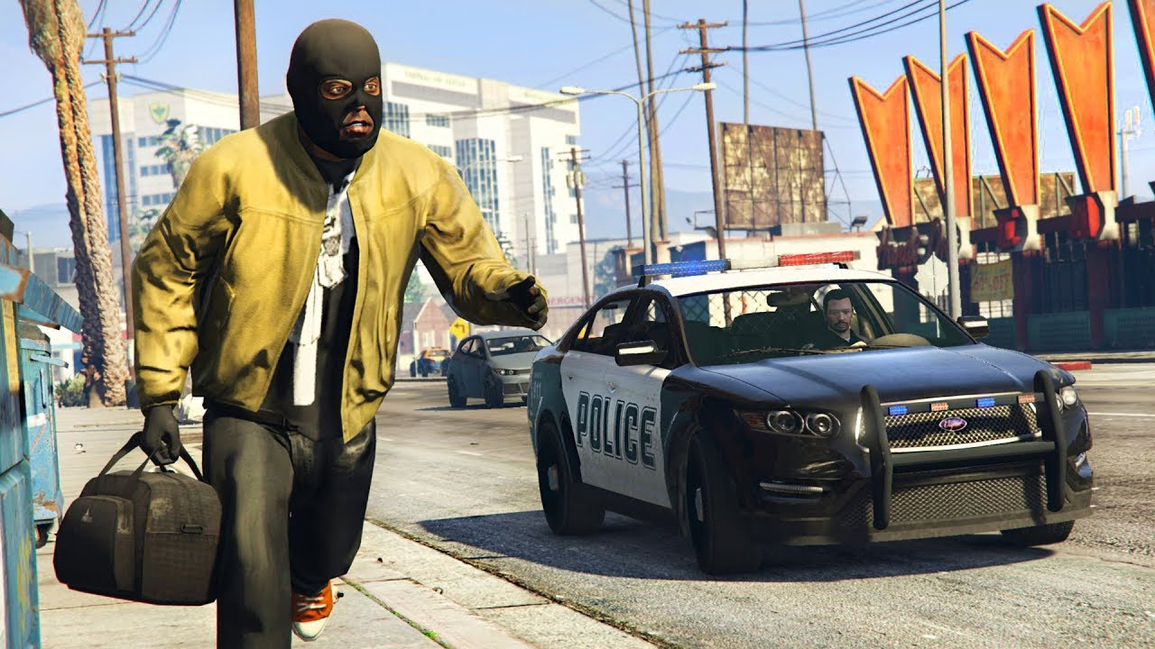 GTA 5 PLAY AS A COP MOD - NEW POLICE MOD UPDATE!! (GTA 5