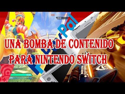 CONTENIDO BRUTAL REVELADO PARA NINTENDO SWITCH EN LA GAMESCOM 2017